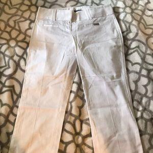 White Express Capri Pants